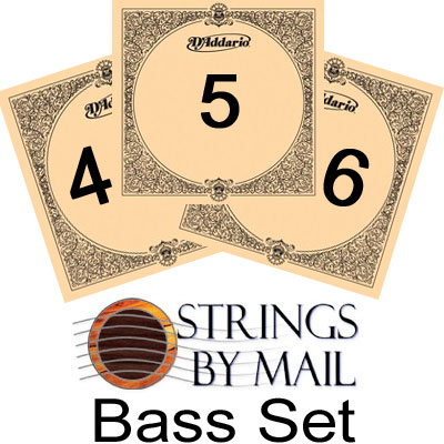 D'Addario EJ45 Pro Arte Normal Tension, Bass Set