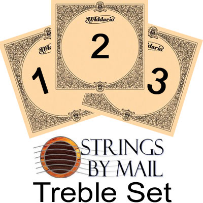 D'Addario EJ45 Pro Arte Normal Tension, Treble Set