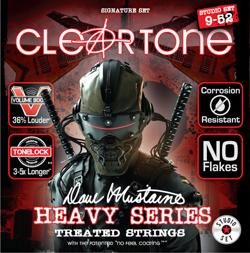 cleartone dave mustaine studio set electric guitar strings 9 52. Black Bedroom Furniture Sets. Home Design Ideas