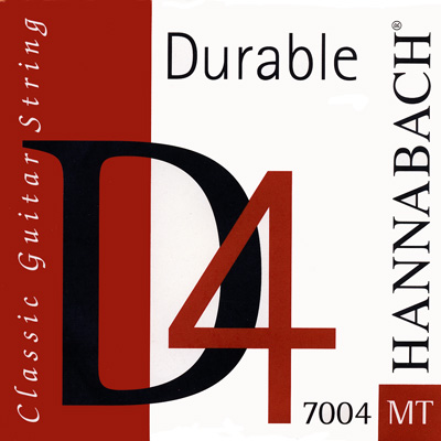 "Hannabach 7004MT ""Durable D"", 4th string Medium Tension"