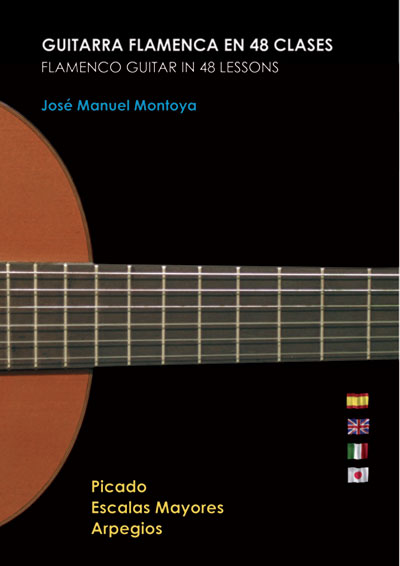 Jos� Manuel Montoya | Flamenco Guitar in 48 Lessons, 4 DVD Set