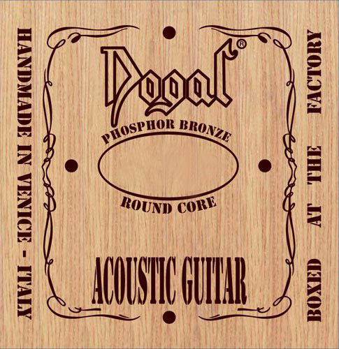 Dogal RC148C Phosphor Bronze Round Core Acoustic Guitar Strings 12-52