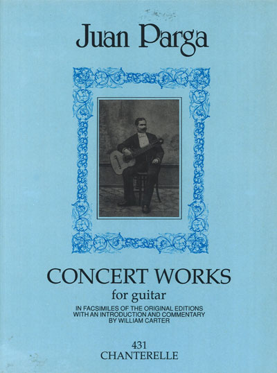 Juan Parga - Concert Works for guitar