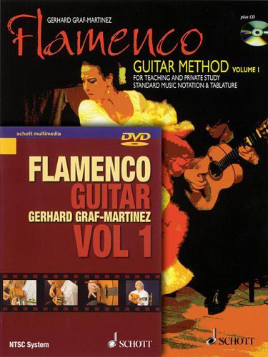 Gerhard Graf-Martinez, Flamenco Guitar Method Volume 1 with CD & DVD