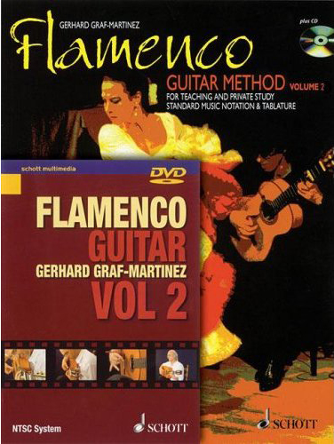 Gerhard Graf-Martinez, Flamenco Guitar Method Volume 2 with DVD