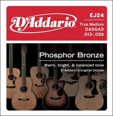 D�Addario True Medium EJ24 DADGAD (13-56), Full Set