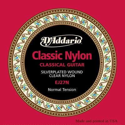D'Addario EJ27N Classic Nylon Normal Tension, Full Set