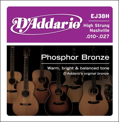 D'Addario EJ38 12 string Phosphor Bronze (10-47) Full Set