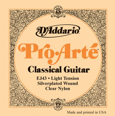 D'Addario EJ43 Pro Arte Light Tension, Full Set
