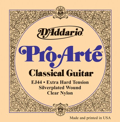 D'Addario EJ44 Pro Arte Extra Hard Tension, Full Set
