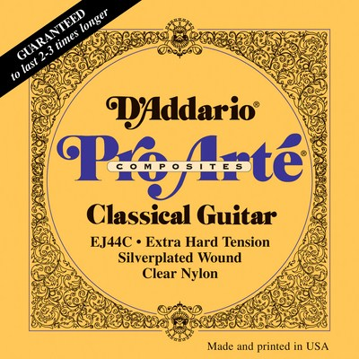 D'Addario EJ44C Pro Arte Composite Extra Hard Tension, Full Set