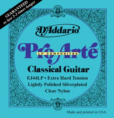 D'Addario EJ44LP Lightly Polished Extra Hard Tension, Full Set