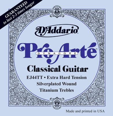 D'Addario Pro Arte Dynacore Extra Hard Tension EJ44TT, Full Set