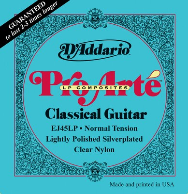 D'Addario EJ45LP Composite Lightly Polished Normal Tension, Full Set