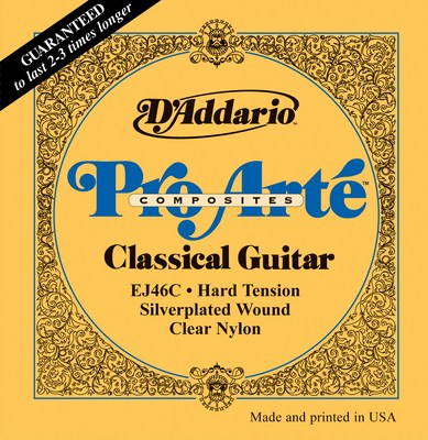D'Addario EJ46C Pro Arte Composite Hard Tension, Full Set