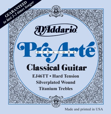 D'Addario Pro Arte Dynacore Hard Tension EJ46TT, Full Set