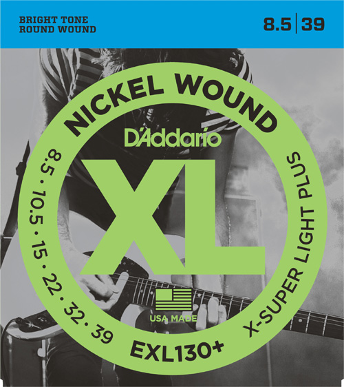D'Addario EXL130 Extra Super Light (8-38), Full Set