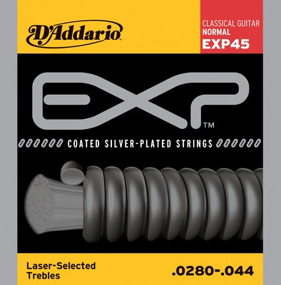 D'Addario EXP45 Coated Normal Tension, Full Set