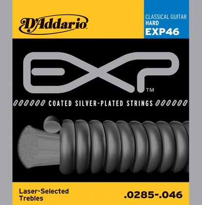 D'Addario EXP46 Coated Hard Tension, Full Set