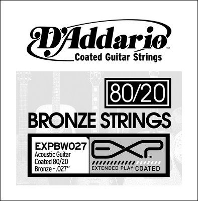 D'Addario EXPBW027 .027 inches, Single String