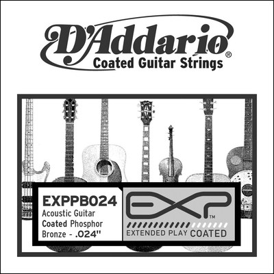 D'Addario EXPPB024 .024 inches (.61 mm), Single String