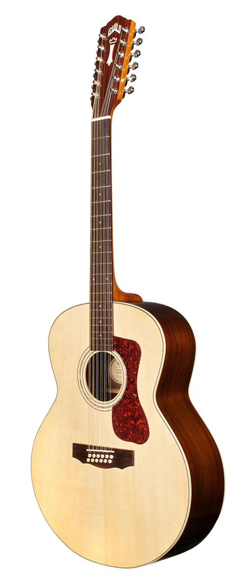 guild f 1512 jumbo 12 string acoustic guitar. Black Bedroom Furniture Sets. Home Design Ideas