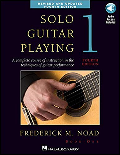 Solo Guitar Playing Volume 1, Book/CD, Frederick Noad