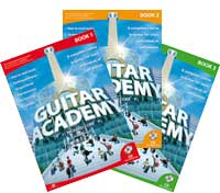 Guitar Academy Books 1, 2 and 3 Promo Package by Richard Corr
