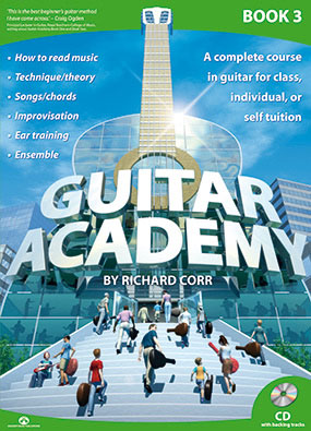 Guitar Academy Book 3 with CD by Richard Corr