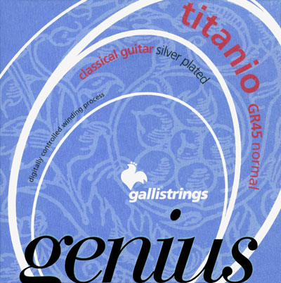 Galli GR45 Genius Titanio Normal Tension, Full Set