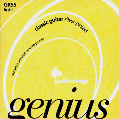 Galli Genius GR5503 - 3rd string (g) light tension