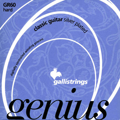 Galli GR60 Genius Nylon Hard Tension, Full Set