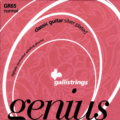 Galli GR65 Genius Nylon Normal Tension, Treble Set