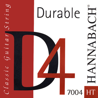 "Hannabach 7004HT ""Durable D"", 4th string High Tension"