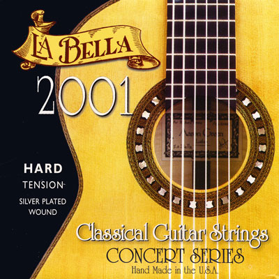 La Bella 2001 Classical Hard Tension, Full Set