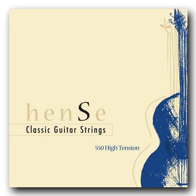 Hense 550HT Nylon High Tension Classical Guitar Strings ...