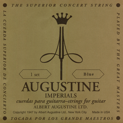 Augustine Imperial Blue Medium/High Tension, Full Set