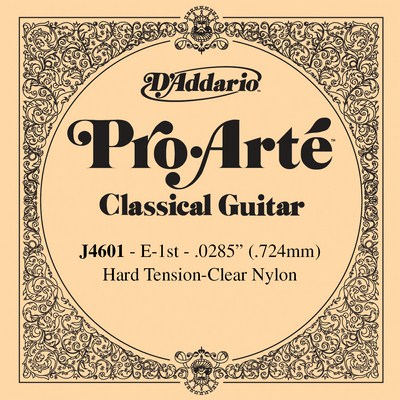 D'Addario Pro Arte J4601 - 1st string (e) hard tension .0285