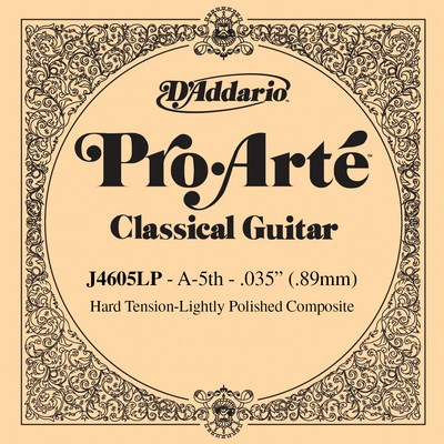 D'Addario Composite Lightly Polished J4605LP , hard tension .035
