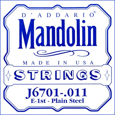 D'Addario J67 Mandolin Nickel Wound (8 strings), Full Set