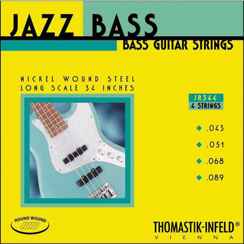 Thomastik-Infeld JR344 Nickel Wound 4 String Jazz Bass (43-89)
