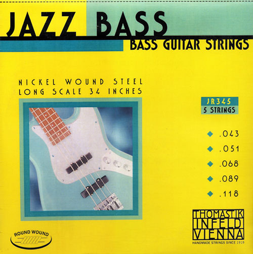 Thomastik-Infeld JR345 Nickel Wound 5 String Jazz Bass (43-118)