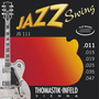 Thomastik-Infeld Jazz Swing Series Flat Wound JS111 - Full Set