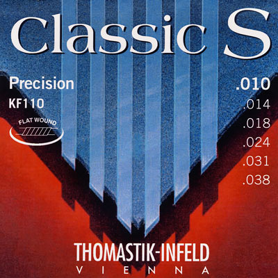 Thomastik-Infeld KF24 - 4th string (D) .024 nickel flat wound on steel