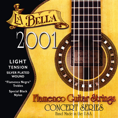 La Bella 2001 Flamenco Light Tension, Full Set