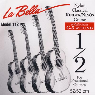 la bella fractional classical guitar strings 1 4 1 2 3 4 7 8 size. Black Bedroom Furniture Sets. Home Design Ideas