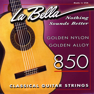 La Bella 850 Elite Classical Medium Tension, Full Set