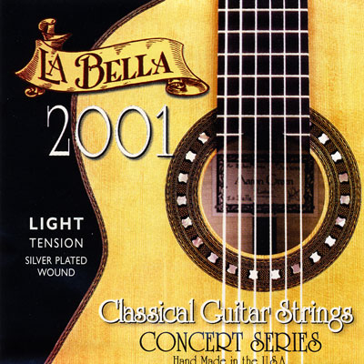 La Bella 2001 Classical Light Tension, Full Set