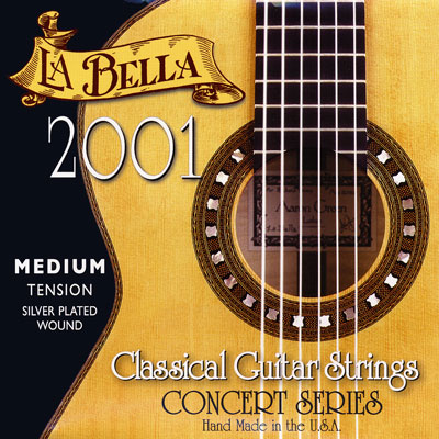 La Bella 2001 Classical Medium Tension, Full Set