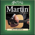 Martin M170 Original 80/20 Bronze Acoustic Guitar Strings Ex Lt 10-47